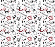 Off The Chain SASFitwear fabric by saraschafferdesigner on Spoonflower - custom fabric