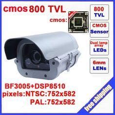 CMOS 800 TVL Dual Lamps Array Infrared Camera Outdoor Waterproof Camera CCTV Camera Security Z60C