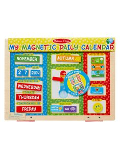 My First Daily Magnetic Calendar from Melissa & Doug on Gilt