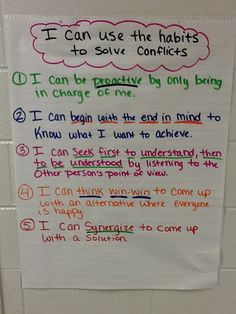 I am definitely going to use this idea in counseling conflict resolution...and probably a lot of other things!