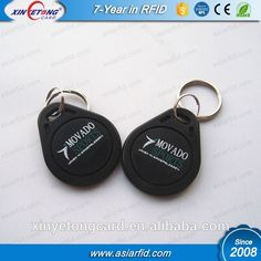 Waterproof ABS RFID Keyfob Classic 1K For Access Control