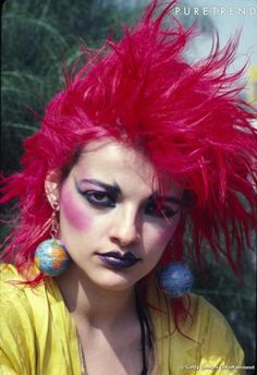Nina Hagen creative game changer in music and fashion helped pave the way for CLUB KIDS GOTH KIDS STYLE