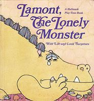 lamont the lonely monster - i wish i still had this!