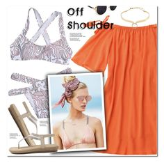 """""""Off Shoulder"""" by oshint ❤ liked on Polyvore featuring Beach Riot and Alexis Bittar"""