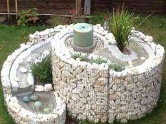 Kräuterschnecke einmal anders: Kraut, Fountain, Outdoor Decor, Home Decor, Pictures, Snails, Deco, Lawn And Garden, Decoration Home