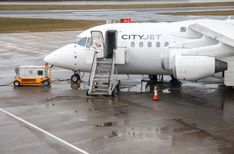 CityJet im Avro RJ85 von London City nach Dublin #economyclass #review #aviation #airplane #london #dublin #avgeek