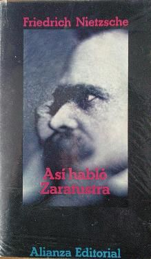 "Así habló Zaratustra""  Friedrich Nietzsche"