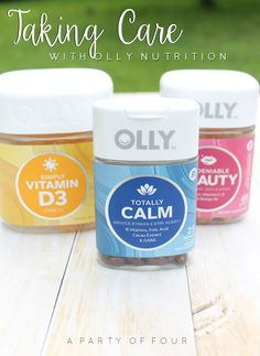 Taking care of yourself is the most important thing you could do. Check out how #OllyNutrition is helping me! #sponsored