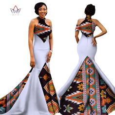 Mermaid African Dresses New Arrival Sleeveless Floor Length Women Formal Occasio. - Mermaid African Dresses New Arrival Sleeveless Floor Length Women Formal Occasion Dress Africa Evening Gowns for Women Source by - African Prom Dresses, Latest African Fashion Dresses, African Dresses For Women, African Print Fashion, Africa Fashion, Modern African Dresses, Ankara Fashion, African Men, African Prints
