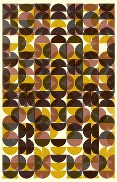 Rusty by Skinny Ships, geometric, color, random Pattern Texture, Surface Pattern, Pattern Art, Surface Design, Pattern Design, Circle Pattern, Graphic Patterns, Textile Patterns, Color Patterns