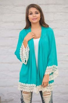 Dress Summer Casual Boho Cardigans 48+ Ideas Long Sleeve Kimono, Kimono Shirt, Casual Summer Dresses, Trendy Dresses, Dress Summer, Glasses Outfit, Cheap Blouses, Chiffon Tops, Boho