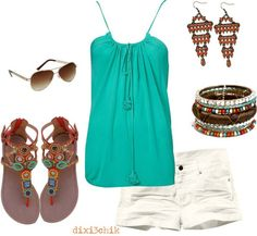 Traveling around Mexico on your Honeymoon just got better with outfits like this!