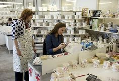 Kate Middleton Photos: Duchess Catherine Visits Pottery Factory