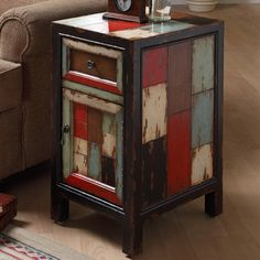 Coast to Coast Imports Rustic End Table & Reviews   Wayfair