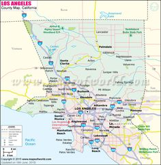 97 Best California Maps images