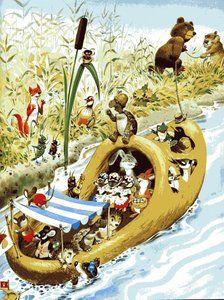 woodland folk!