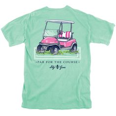 Pink Golf Cart | Lily Grace
