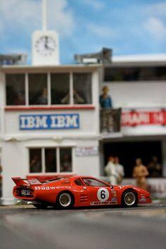 Slot cars, Slotwings Ferrari 512BB LM, W50101, 'Berlinetta Boxer', 24h Daytona 1982