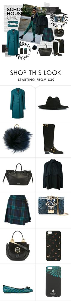 """School House Chic"" by tessabit ❤ liked on Polyvore featuring Oris, Paul Smith, MICHAEL Michael Kors, Chloé, MM6 Maison Margiela, Burberry, GEDEBE, Marc Jacobs, Salvatore Ferragamo and Marcelo Burlon"