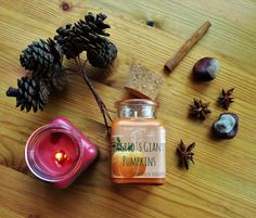 Harry Potter Candle Hagrid's Pumpkins medium by ScentMePlaces Soy Candles, Scented Candles, Harry Potter Candles, Giant Pumpkin, Any Book, Pumpkins, Writers, Literature, Household