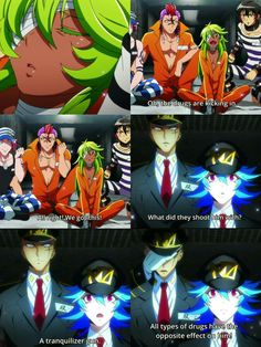 When Nico faked his own death but actually became stronger. Nanbaka
