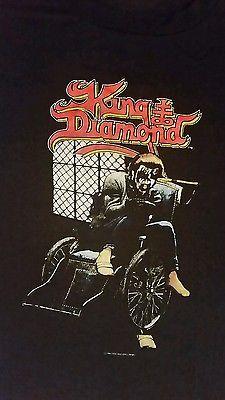 Vintage 1988 King Diamond Mercyful Fate Tshirt Rare XL