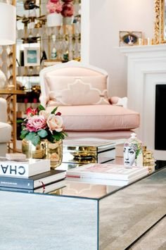 Home Tour: pretty in pink by Ana Antunes — The Decorista