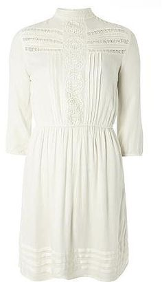 Womens ivory dress from Dorothy Perkins - £28 at ClothingByColour.com