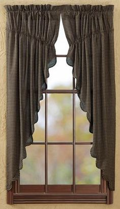 These Are The Prairie Curtains I Have In My Living Room Only Mine Burgundy And