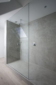 Obsessed with concrete — would love to shower in it. A #CanDoBaby! fave.:
