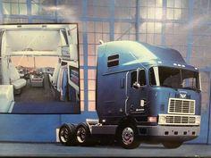who remembers sleeping in one of these Big Rig Trucks, New Trucks, Cool Trucks, Cool Cars, Vintage Trucks, Vintage Ads, Model Truck Kits, International Harvester Truck, Custom Big Rigs