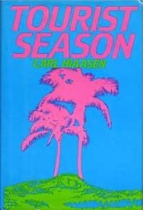 Check out these must-read mysteries, including Tourist Season by Carl Hiaasen. An eccentric cast of characters and an eclectic setting make this mystery a hilarious whodunit. Carl Hiaasen Books, Books To Read, My Books, Best Mysteries, Thriller Books, Mystery Books, Mystery Series, Book Nooks, Historical Fiction