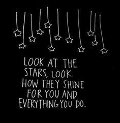 A sky full of stars- Coldplay Motivacional Quotes, Star Quotes, Song Lyric Quotes, Music Quotes, Words Quotes, Sayings, Frases Coldplay, Coldplay Lyrics, Music Lyrics