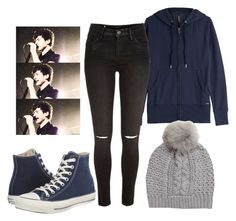 """""""Calum Hood Inspired Outfit"""" by hurricane-halsey ❤ liked on Polyvore featuring Woolrich, River Island, UGG Australia and Converse"""