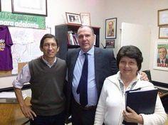 VISITAS AL BLOQUE Rafael Ayala y Mabel Barboza de Perugorria