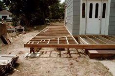 Wrap-around porch on a budget