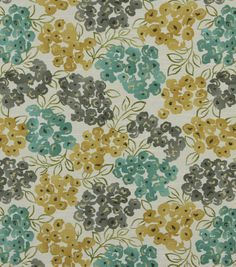 Robert Allen Luxury Floral Pool - (Upholstery - accents?  kitchen curtains, pillows?)