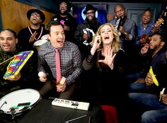 Adele and Jimmy Fallon's Classroom Instrument Rendition of Hello Is Better Than the Original | E! Online