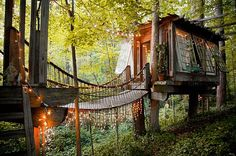 A secluded treehouse in Atlanta, Georgia | 27 Tiny Houses You Can Actually Stay In
