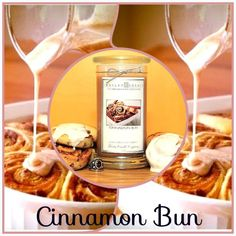 Smells just like cinnamon buns! click pic to check this awesome scent out on jewelrycandles.com and our other great scent selections!