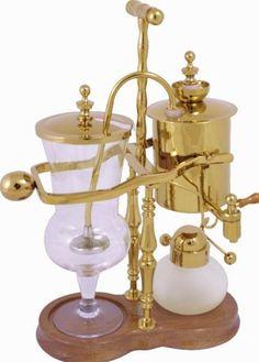 Belgium Coffee Pot Balancing Syphon Coffee Maker | Gokitchenideas.com