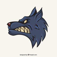 Wolf mascot - Freepik.com-Animals-pin-49