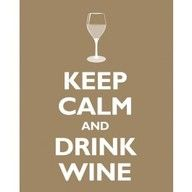 Something to be said about drinking wine!