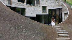 SeARCH e Christian Muller Architects, chalet sotterraneo, Svizzera