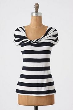 Stripes with a twist. Adorable!