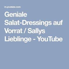 Geniale Salat-Dressings auf Vorrat / Sallys Lieblinge - YouTube