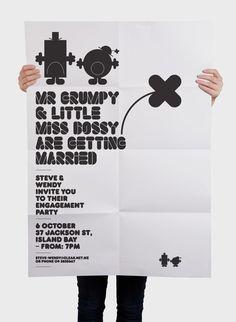 Mr Men by Mike Collinge, via Behance