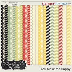{You Make Me Happy} Digital Pattern Papers by Ooh La La Scraps available at Gingerscraps http://store.gingerscraps.net/You-Make-Me-Happy-Pattern-Papers.html and Gotta Pixel http://www.gottapixel.net/store/product.php?productid=10018275&cat=&page=1 #digiscrap #digitalscrapbooking #justsoscrappy #youmakemehappy