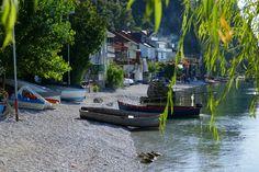 Het meer van Ohrid in Macedonië. (Sony A65)