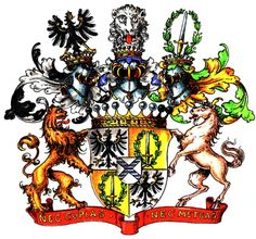 Coat of Amrs Grafen York von Wartenburg Wappen